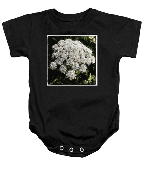 Baby Onesie featuring the photograph What Flower Is This? I Think It's by Mr Photojimsf