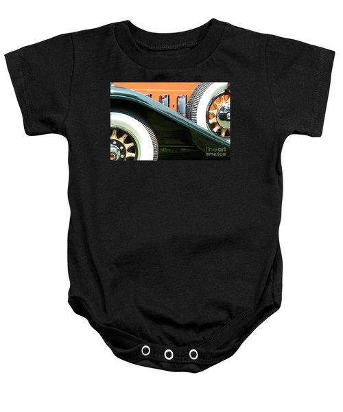 Wheels Baby Onesie