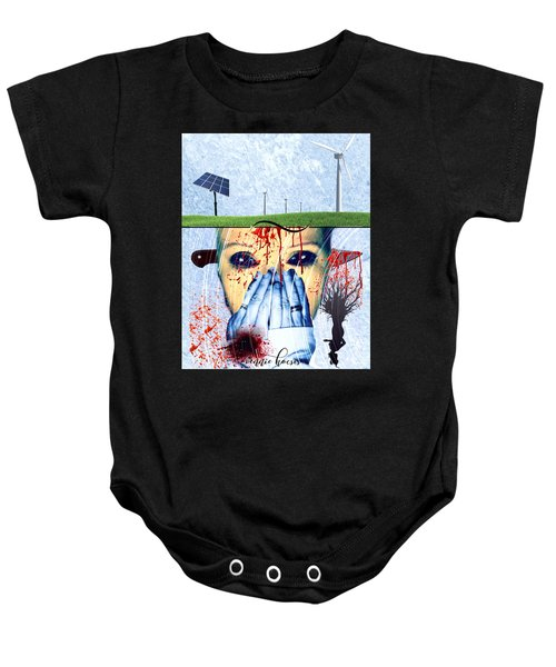 When They Take The Mind Baby Onesie