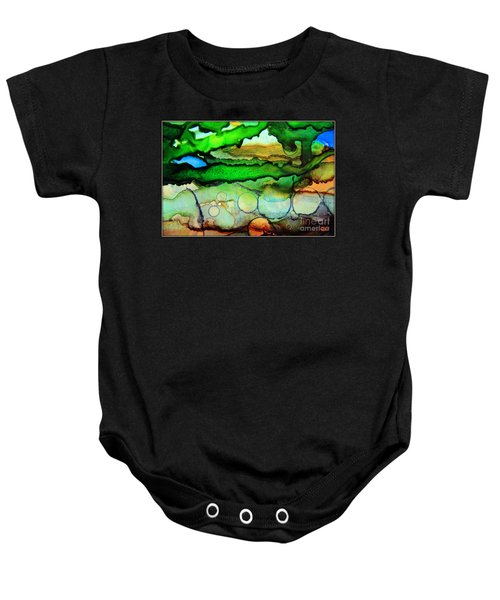 Where The Rivers Flow.. Baby Onesie