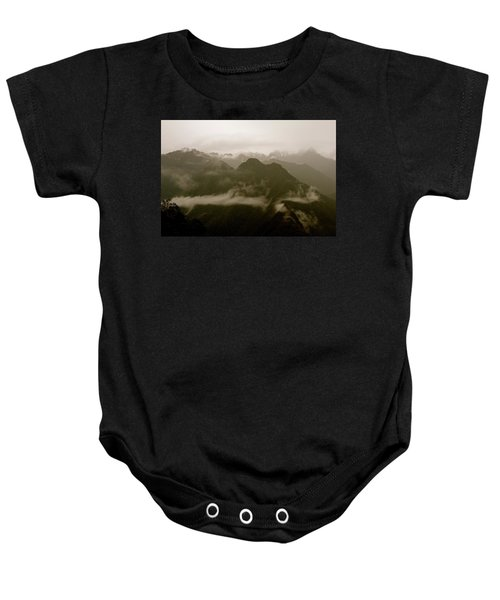 Whispers In The Andes Mountains Baby Onesie