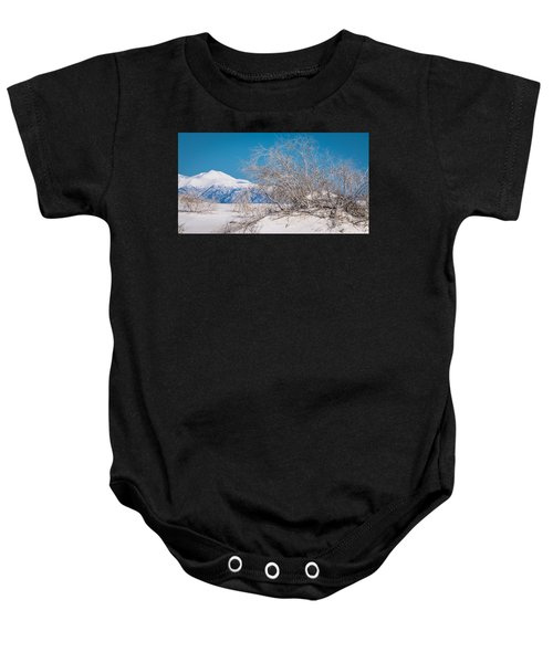 White Desert Baby Onesie