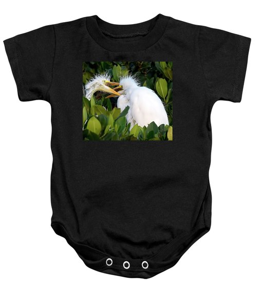 Who Gets To Eat First? Baby Onesie