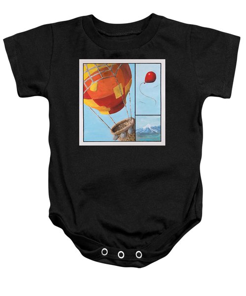 Who's Flying This Thing? Baby Onesie