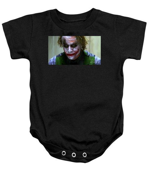 Why So Serious Baby Onesie