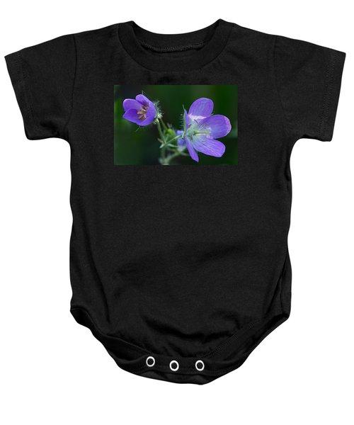 Wild Geraniums Baby Onesie