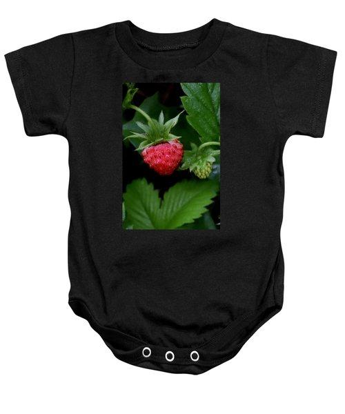 Wild Strawberry Baby Onesie