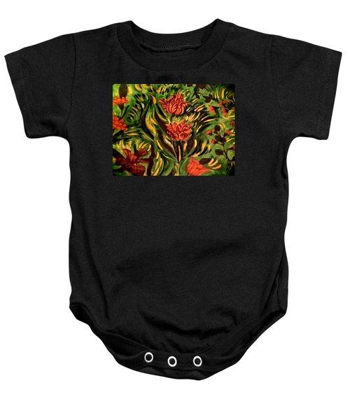 Wild Tulips Baby Onesie