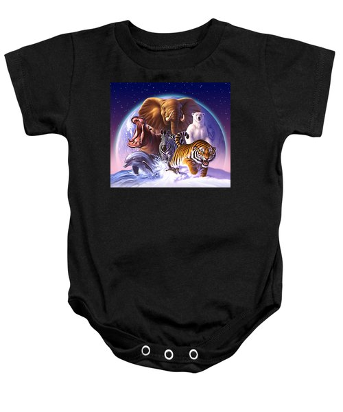 Wild World Baby Onesie