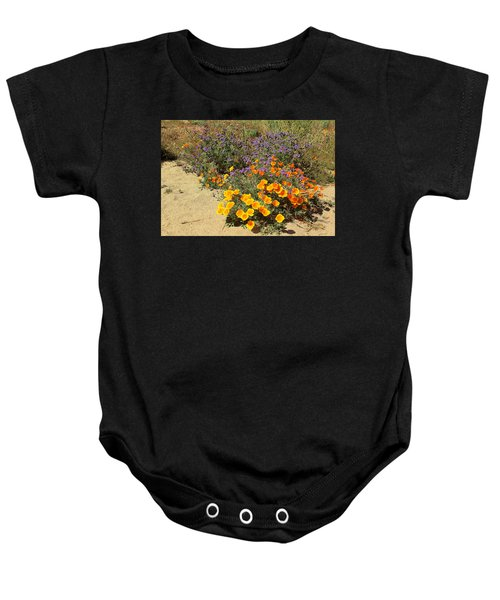 Wildflowers In Spring Baby Onesie