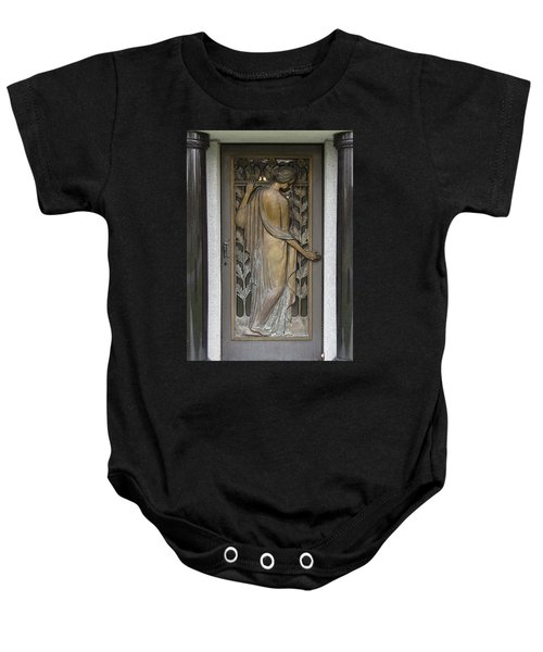 Will My Voice Leave Echoes Baby Onesie