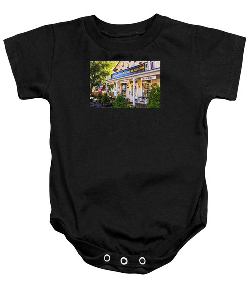 Williamsburg General Store Mass Baby Onesie