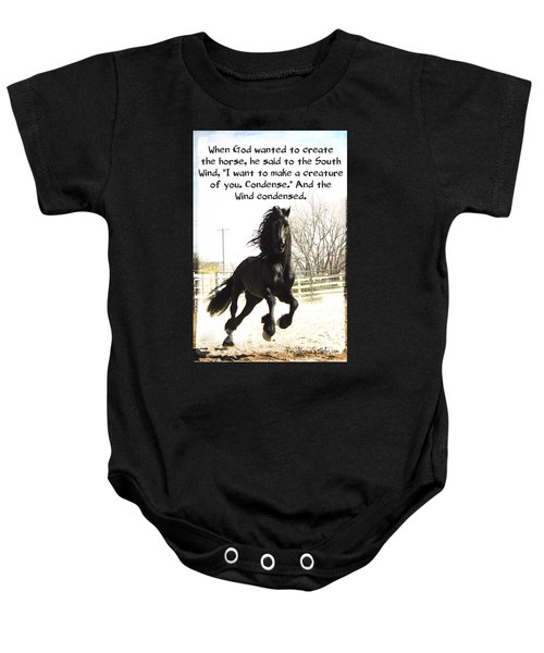 Wind In Your Mist Baby Onesie