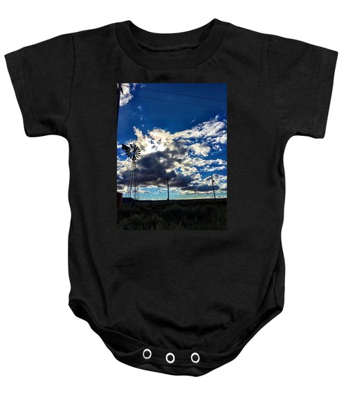Windmill Lonely Baby Onesie