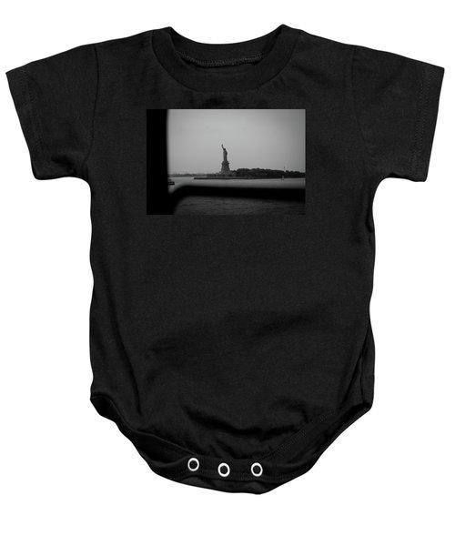 Window To Liberty Baby Onesie
