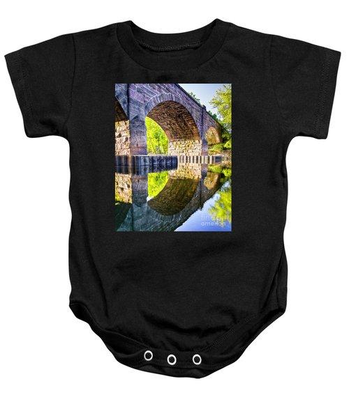 Windsor Rail Bridge Baby Onesie