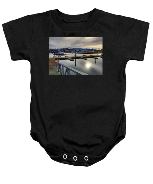 Winter Harbor Baby Onesie