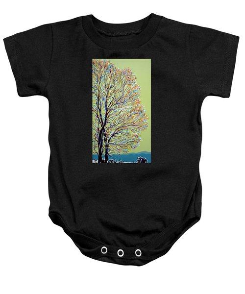 Wintertainment Tree Baby Onesie