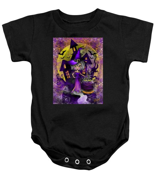Wisdom Witch Fantasy Art Baby Onesie
