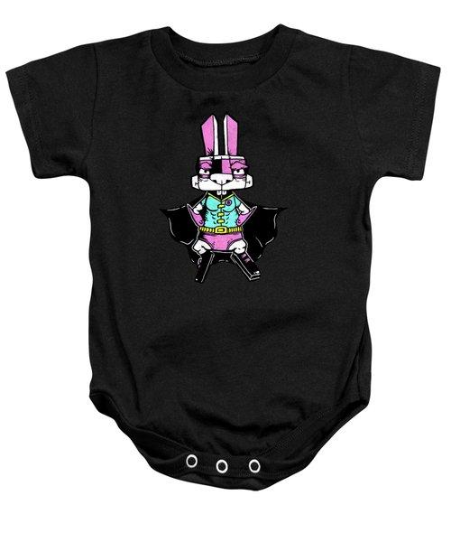 Wonder Bunny Baby Onesie by Bizarre Bunny
