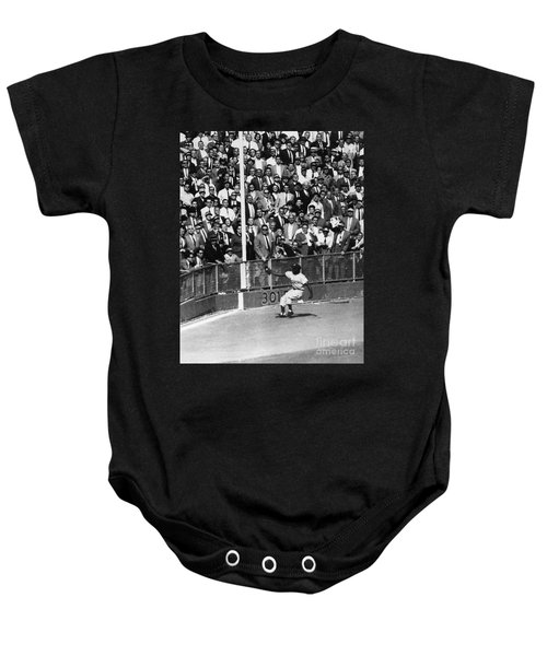 World Series, 1955 Baby Onesie by Granger