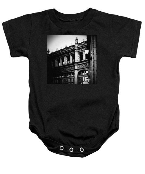 Wrigley Building Square Baby Onesie