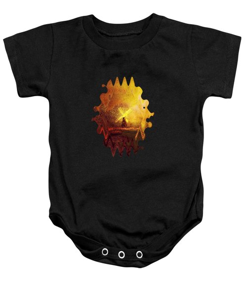 Ye Olde Mill Baby Onesie by Valerie Anne Kelly