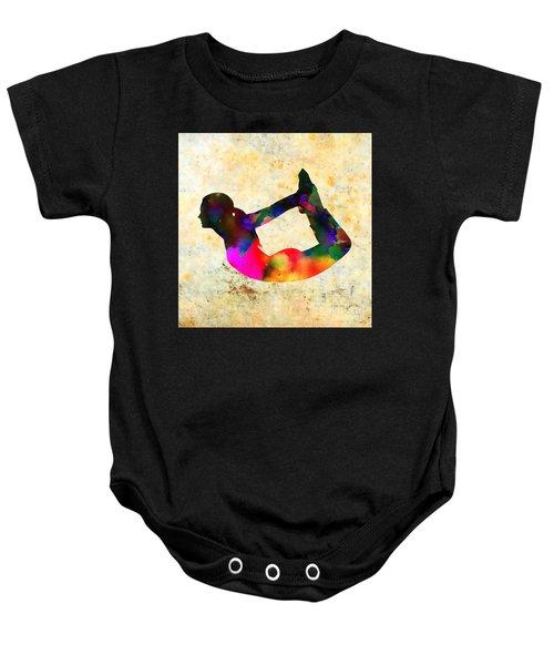 Yoga - Bow Pose Baby Onesie