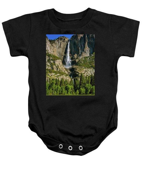 Yosemite Falls Baby Onesie