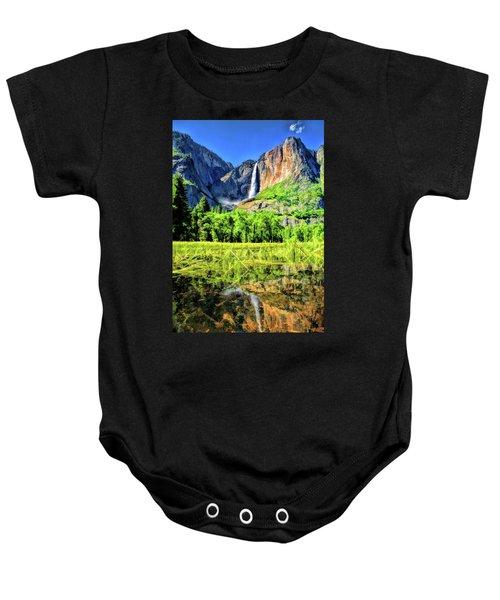 Yosemite National Park Bridalveil Fall Baby Onesie
