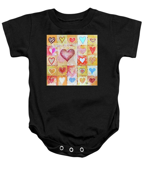 You Can Only See Clearly With Your Heart Baby Onesie