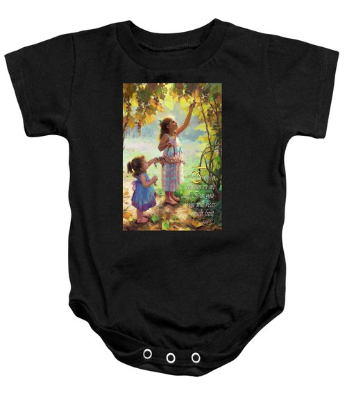 You Will Bear Much Fruit Baby Onesie