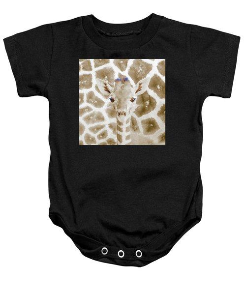 Young Giraffe Baby Onesie