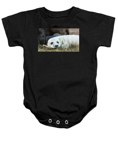 Young Pup Baby Onesie