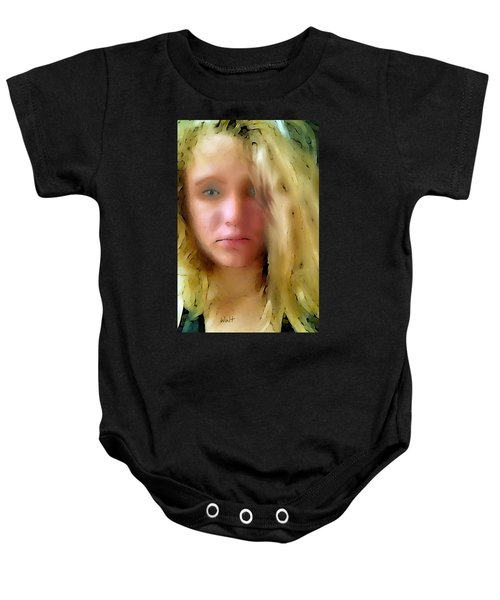 Young Woman Baby Onesie