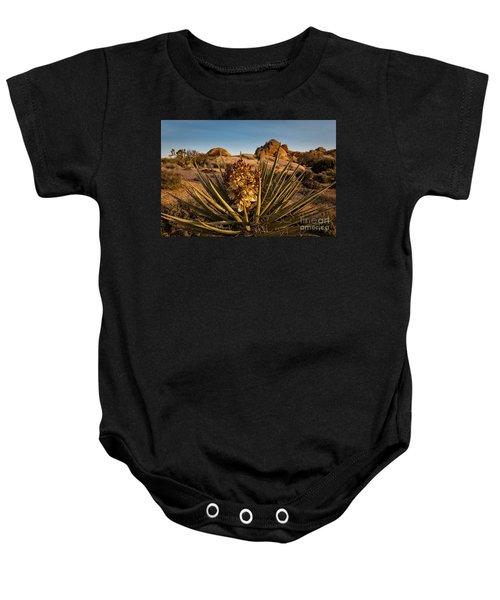 Yucca Bloom Baby Onesie