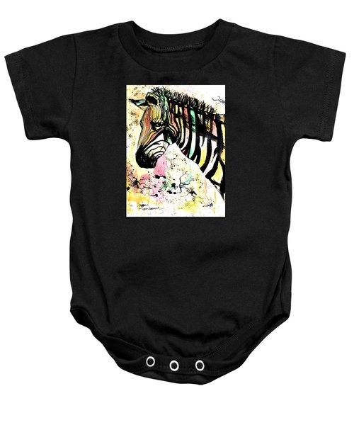 Zebra Baby Onesie