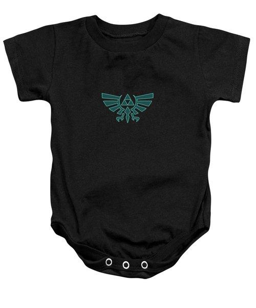 Zelda Triforce Baby Onesie
