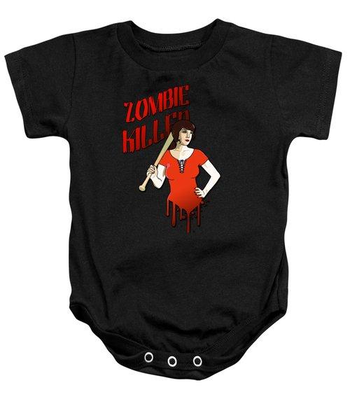 Zombie Killer Baby Onesie