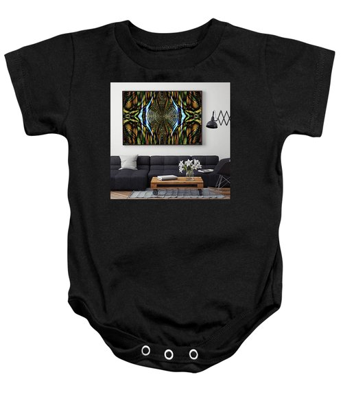Abstract Caracause Baby Onesie