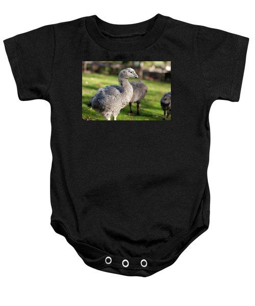 Cape Barren Goose And Geese Baby Onesie
