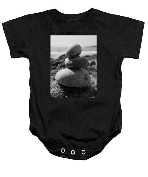 Fine Art - Pebbles Baby Onesie