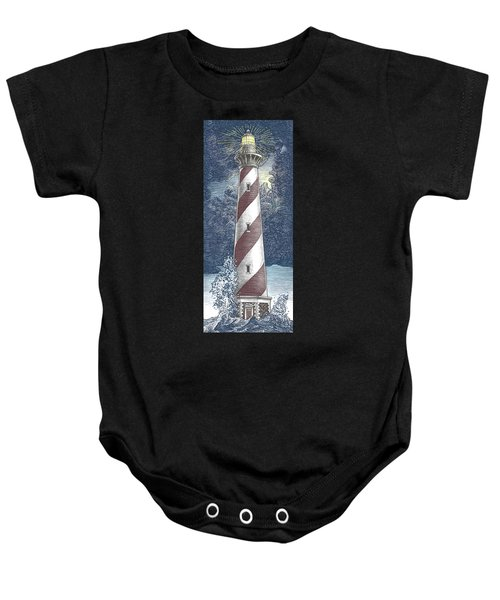 Peace In The Storm Baby Onesie