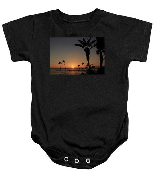 San Clemente Sunset Baby Onesie