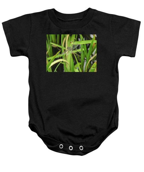 Yellow Dragonfly Baby Onesie