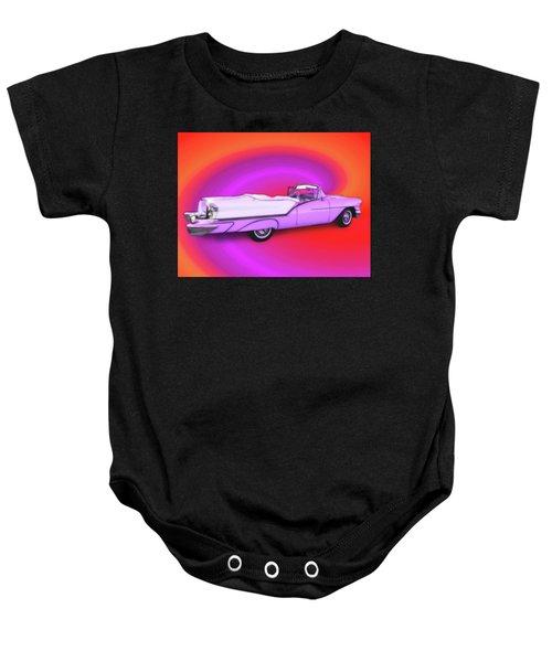 1957 Oldsmobile 98 Starfire Baby Onesie