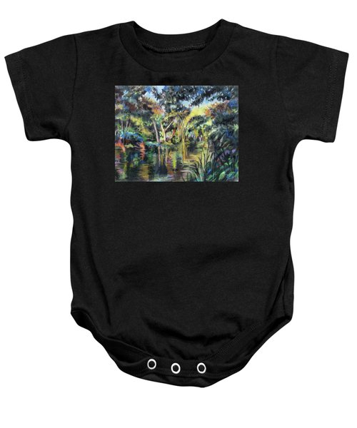 Lake Reflections Baby Onesie