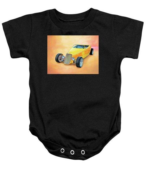 33 Speedstar Baby Onesie