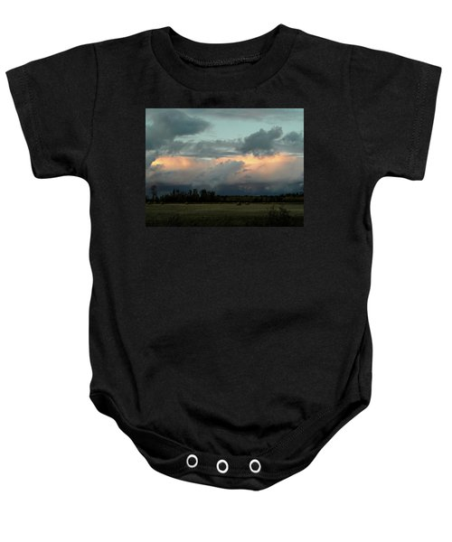 Colossal Country Clouds Baby Onesie