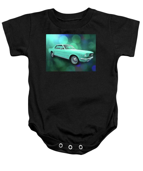 65 Mustang Baby Onesie
